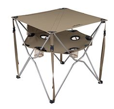 ALPS Mountaineering Eclipse Table (Khaki) ALPS Mountainee...AND it collapses like a camping chair!