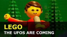 The space creatures are coming, LEGO Brickfilm Lego City, Stop Motion, Ufo, Creatures, Animation, Space, Fictional Characters, Floor Space, Animation Movies