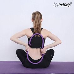 Muscle Fitness, Fitness Goals, Fitness Tips, Le Pilates, Pilates Workout, Pilates Ring Exercises, Rings Workout, Hip Flexibility, At Home Workouts For Women