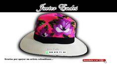 sombreros pintados a mano,    como pintar sombreros, artesanias en colombia