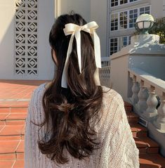 Hair Inspo, Hair Inspiration, Aesthetic Hair, Dream Hair, Ulzzang Girl, Pretty Hairstyles, Wedding Hairstyles, Hair Looks, Hair And Nails