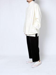diverse-web:  Sasquatchfabrix.BIG SILHOUETTE NO NECK SHIRTS SUNSEAAnderson Layered Long T-Shirt Sasquatchfabrix.SAROUEL PANTS