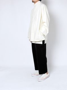 diverse-web:  Sasquatchfabrix.BIG SILHOUETTE NO NECK SHIRTS SUNSEAAnderson Layered Long T-Shirt Sasquatchfabrix.SAROUEL PANTS