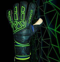 Ichnos Vertex goalkeeper gloves, instagram ad