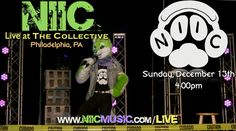 It's almost here! We are less than a week away from NIIC's album release concert at The Collective Philadelphia! Check this dog out LIVE on Sunday, December 13th. Tickets available at NIICmusic.com/LIVE