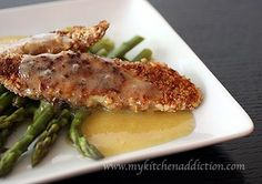 Almond Crusted Tilapia with Orange Beurre Blanc More