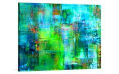 BLUE LAGOON [TCW - 2000] - $299.00 | The Canvas Workshop | Original art for interior design, buy original paintings online
