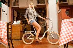 Citizen Bike folding bike shop | Portable & Folding Bikes | BARCELONA Citizen Bike 20 3-speed Folding Cruiser with Alloy Frame $399