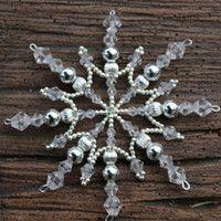 Zboží prodejce chucha / Zboží | Fler.cz Snowflake Craft, Snowflakes, Felt Christmas Ornaments, Christmas Crafts, Christmas Inspiration, Origami, Beading, Hair Accessories, Stars