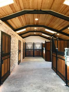 Equestrian Stables, Horse Stables, Horse Farms, Equestrian Decor, Dream Stables, Dream Barn, Luxury Horse Barns, Horse Barn Plans, Horse Barn Decor