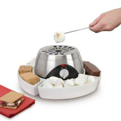 Hammacher Schlemmer The Indoor Flameless Marshmallow Roaster: Just because it's freezing outside doesn't mean you have to give up s'mores for the rest of the year.
