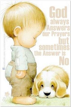 "God always answers our prayers. Sometimes His answer is ""no"" or ""wait. but if our prayer is not answered the way we want, it is because God knows best. Spiritual Inspiration, Spiritual Quotes, Trust God, Word Of God, Christian Quotes, Bible Quotes, Qoutes, Christianity, Prayers"