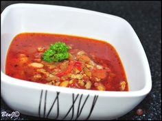 Mexická chilli fazuľová polievka