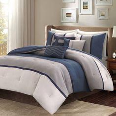 product image for Madison Park Palisades 7-Piece Reversible Comforter Set