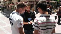 Difusión del proyecto en Algeciras, Cádiz