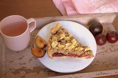 Frau Hoffmanns Kirsch Mandelkrokant Streuselkuchen