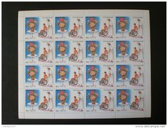 STAMPS YEMEN 1982 Airmail - International Year of Disabled Persons MNH
