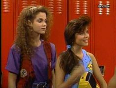 New party member! Tags: 80s hair flip saved by the bell 80s fashion elizabeth berkley tiffany amber thiessen