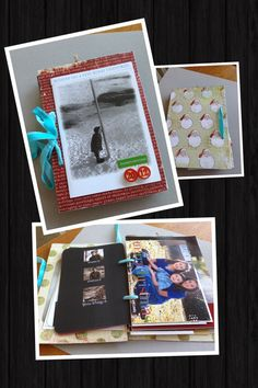 Make a book out of the Christmas cards you receive each year. db