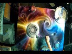 Spray Paint Art GoPro Hero 2 Breaking The Dawn by Matt Sorensen