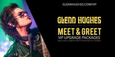 A Limited Number of VIP Upgrade Packages will be available for my upcoming 2016 Solo Tour of UK & EUROPE #GHVIP