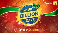 Flipkart Big Billion Days 2016 – Shopping Offers, Deals, Bank Discounts and More