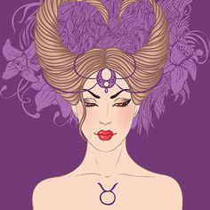 Zodiac Girl's faces by Varvara Gorbash, via Behance