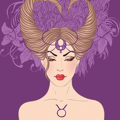 TAURUS ...image ...Zodiac Girl's faces by Varvara Gorbash, via Behance