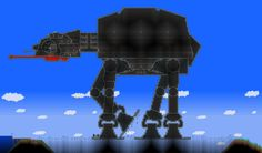 AT-AT in Terraria by ~fongky on deviantART