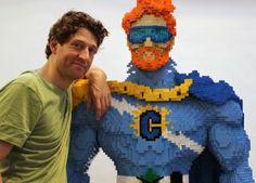 Nathan Sawaya #legoart #lego #nathansawaya #arte #art
