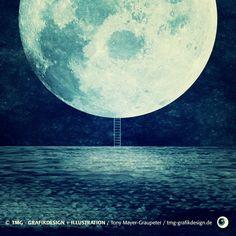 Moon / Vektor Illustration