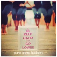 Pure Barre-My newest obsession!