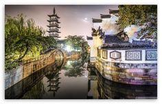 Nanxiang Ancient Town (Shanghai, China) HD desktop wallpaper : High Definition : Fullscreen : Mobile