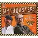 Mythbusters 2015 Desk Calendar: 9781416296607   Trivia Calendars   Calendars.com $15