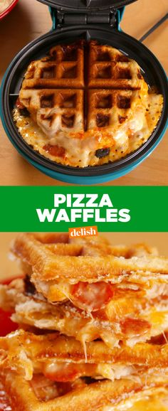 Your Kids Never Saw Pizza Waffles Coming