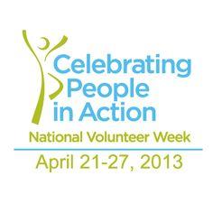 National Volunteer Week 2013!