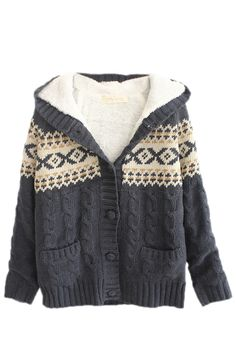 Snowflake Fairisle Cardigan | Cute Christmas Sweaters for Women ...
