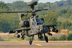 UK Army Air Corps WAH64D Apache AH1 helicopter, RIAT 2015, Photo : André Bour