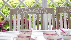 Tavolo, sedie e grigliati da giardino Shabby Chic Chicano, Video