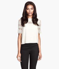 Lace Blouse - $34.95 Product Detail | H&M US
