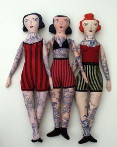 tattoo dolls