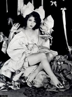 Clara Bow the original inspiration for Betty Boop!