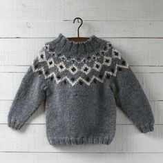 Hambro & Miller - Traditionally styled, hand knitted clothing and accessories Winter Knitting Patterns, Knitting For Kids, Hand Knitting, Sewing Baby Clothes, Girl Doll Clothes, Icelandic Sweaters, Baby Kind, Baby Sweaters, New Baby Products