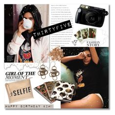 """Happy Birthday Kim!"" by bellaeve ❤ liked on Polyvore featuring Fuji, Emily Humphrey, Topshop and NEST Jewelry"