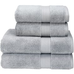 Christy Supreme Hygro Towel - Silver - Bath Sheet (140 BRL) ❤ liked on Polyvore featuring home, bed & bath, bath, bath towels, grey, gray bath towels, grey bath towels and christy bath towels