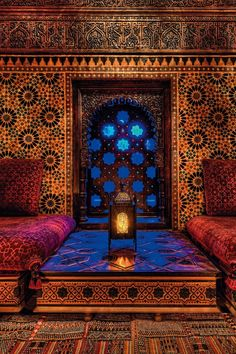 Morocco Travel Inspiration - Riad Marrakesh - legendary perfumer Serge Lutens luxury palace in Marrakech Moroccan Design, Moroccan Tiles, Moroccan Decor, Moroccan Room, Moroccan Pattern, Design Marocain, Riad Marrakech, Interior And Exterior, Interior Design