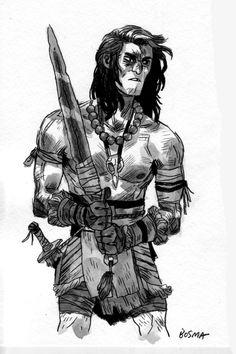 SAM BOSMA : Conan #conan