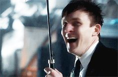 Robin Lord Taylor GIF HUNT This gif hunt contains gifs of Robin Lord Taylor. None of these gifs are mine and I take no credit for them. If any of the gifs are yours, feel free to send me an ask. Penguin Gotham, Gotham Series, Lord & Taylor, Robin, Actors, Random Stuff, Gifs, Sad, Batman