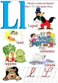Creionasul cel istet si prietenii: Alfabetul (cu ilustratii) Alphabet Writing, Learning The Alphabet, Early Education, Kids Education, School Lessons, Activities To Do, Kids And Parenting, Montessori, Kindergarten