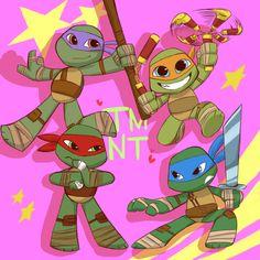 Chibi turtles.